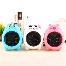 Cartoon Mini Desktop Heater, Cute Warm Fan, Household Electric Heater