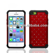 2014 New Products Silicone Red Cover For Iphone 5c,lowest price cases