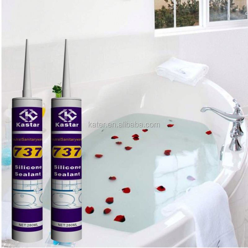 Bathroom neutral natural silicone sealant