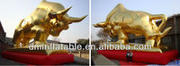 Vivid Golden lucky bull