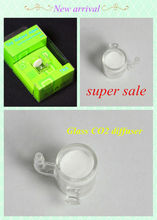 super sale high quality aquarium glass CO2 diffuser for plant tank