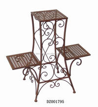 Hot Sale Decorative Wrought Iron Flower Pot Stand