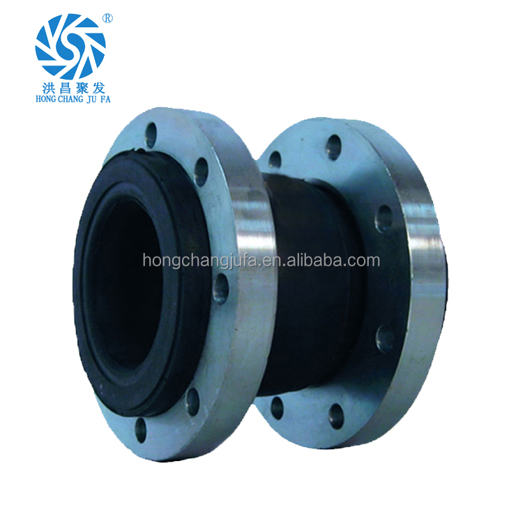Single sphere flange type rubber expansion joint/rubber expansion joints.