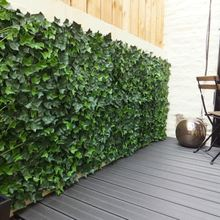 Home Decoration Fake Ivy Hedge Artificial Green Hedge Leaf Fence