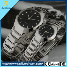 Global Selling Couple Watch Japan Movt Titanium Watch