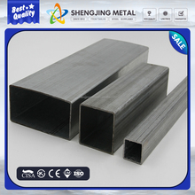 hot dipped Galvanized rectangle steel pipe/rectangular / square tube / hollow sections