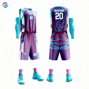 Latest Men's Custom Basketball Jersey And Shorts Sublimated