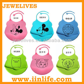2014 New Design Wholesale Blank Baby Bibs,Silicone Baby Bibs