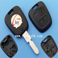 Key fob shell remote controller cover Non folding Peugeot 406 2 buttons remote key shell