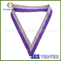 Factory price custom colorful good price technique sports wearable fabric medal neck ribbon pattern lanyard wholesale