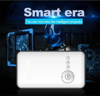 Cube Smart Beam Projector with Android 4.4 and Built-in Wifi bluetooth Projector/Projektor