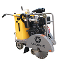 China diesel engine asphalt concrete cutter machine for sale