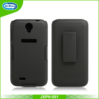 newest products swivel belt clip hard mobile phone case for lenovo a850