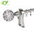 Hot sell 16mm curtain rod with iron curtain finials