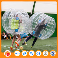High quality 0.8mm PVC/TPU inflatable loopy balls,indoor soccer bubble,body inflatable ball suit for kids and adults
