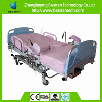 China Supplier BT-LD002 manual delivery bed labor and delivery beds gynaecology bed obstetric birthing table