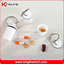 High quality plastic mini pill box (KL-9053)