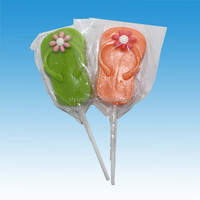 Halal Slippers shape lollipop