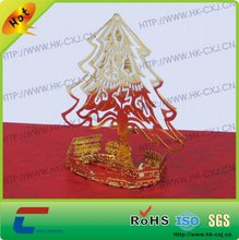 toy metal Christmas tree Gifts gold Decoration factory