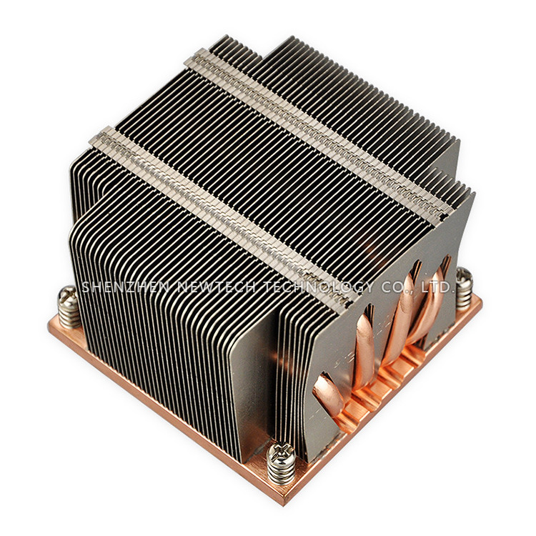 Supermicro LGA2011-V3 Intel original heatpipe aluminum fins passive cpu cooler heatsink china