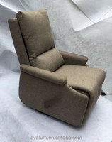 European style morden fabric washable ikea recliner chair, swivel and rocker recliner, power recliner