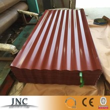 For sale to western country roofing tiles color pvc sheet / colour coated printing steel sheet in construction