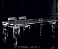 Modern conference room table acrylic office furniture