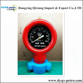 oil Mud pump pressure gauge