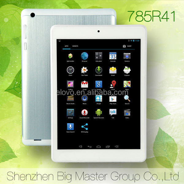 2014 new product on market tablet pc 7.85 inch RK3188 quad core android ultra digital tablet