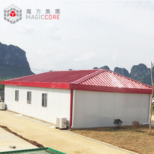 China design polyurethane prefabricated house 1 bedroom kitchen portable dwelling