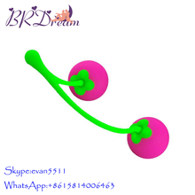 New Silicone Cherry Kegel balls,Vagina Massager For Women