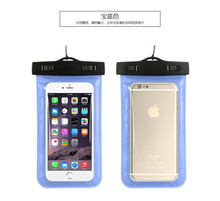 Universal Underwater IP68 WaterProof Pouch Phone Bag Cases For iPhone 7/6/6 Plus/X