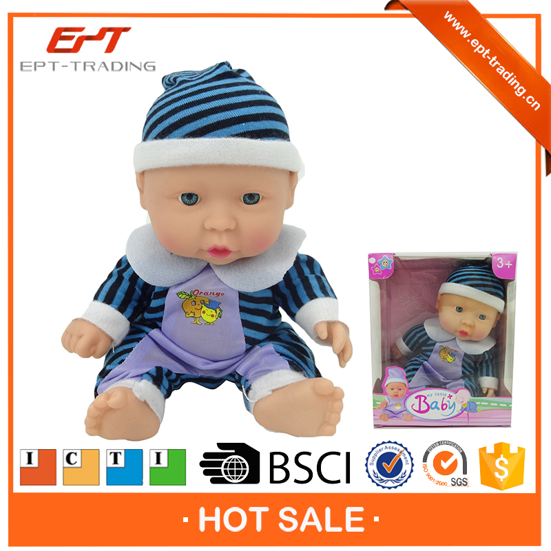 Cute silicone 10inch reborn baby doll for sale