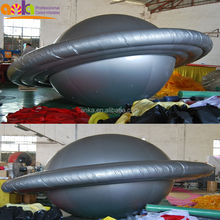 Custom inflatable ufo helium balloon for advertising