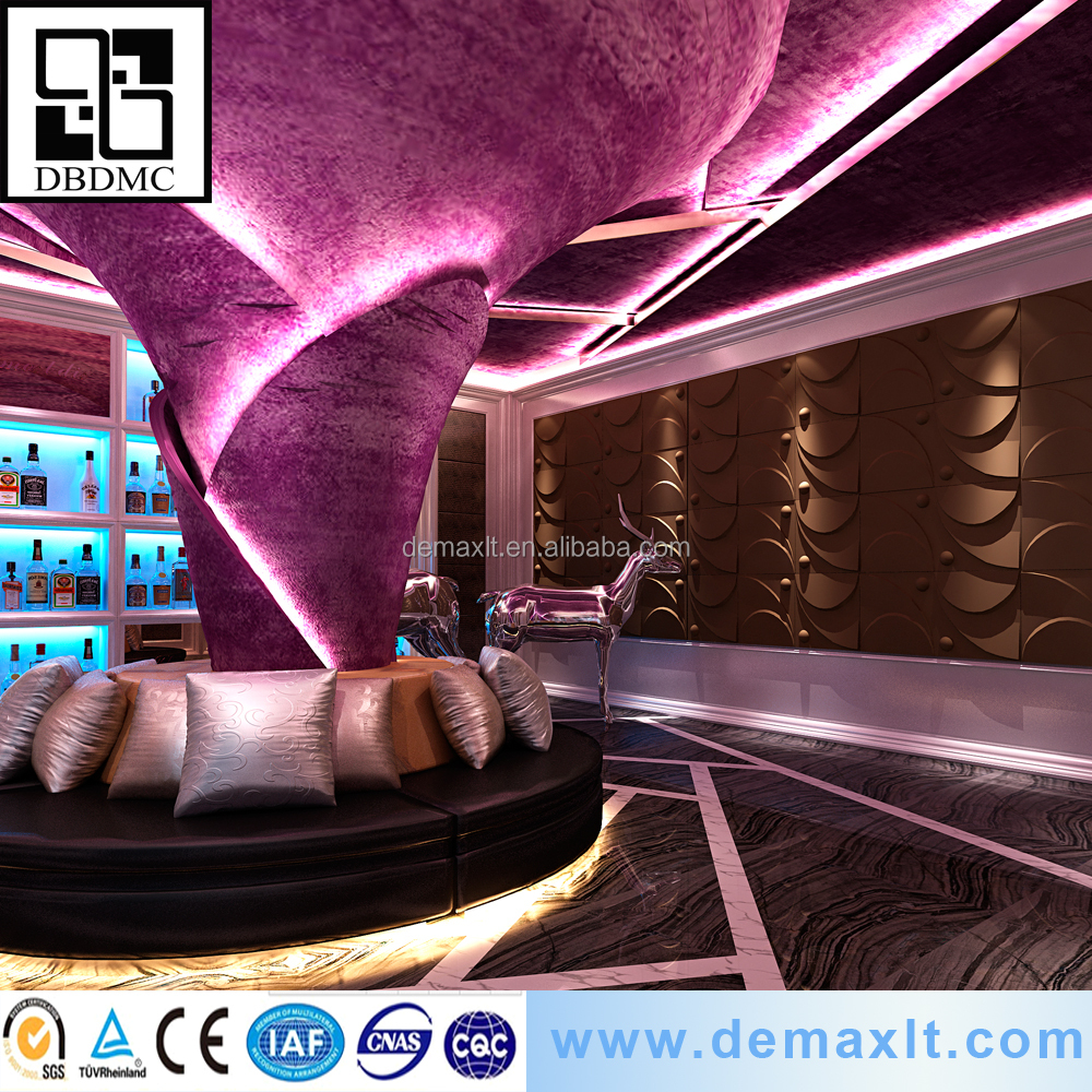 demax produce new design craze selling household usage decorative 3d wall panels