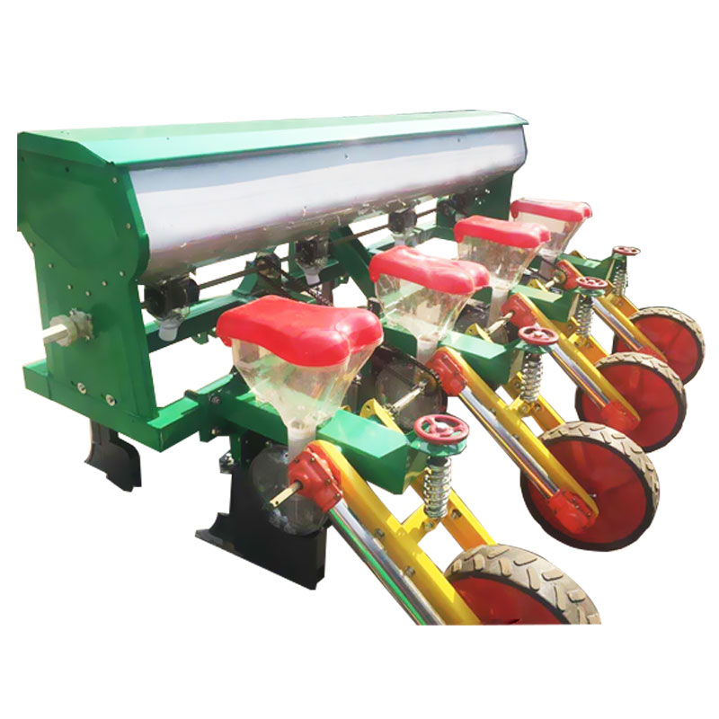 High efficient 2 rows tractor corn seed planter factory