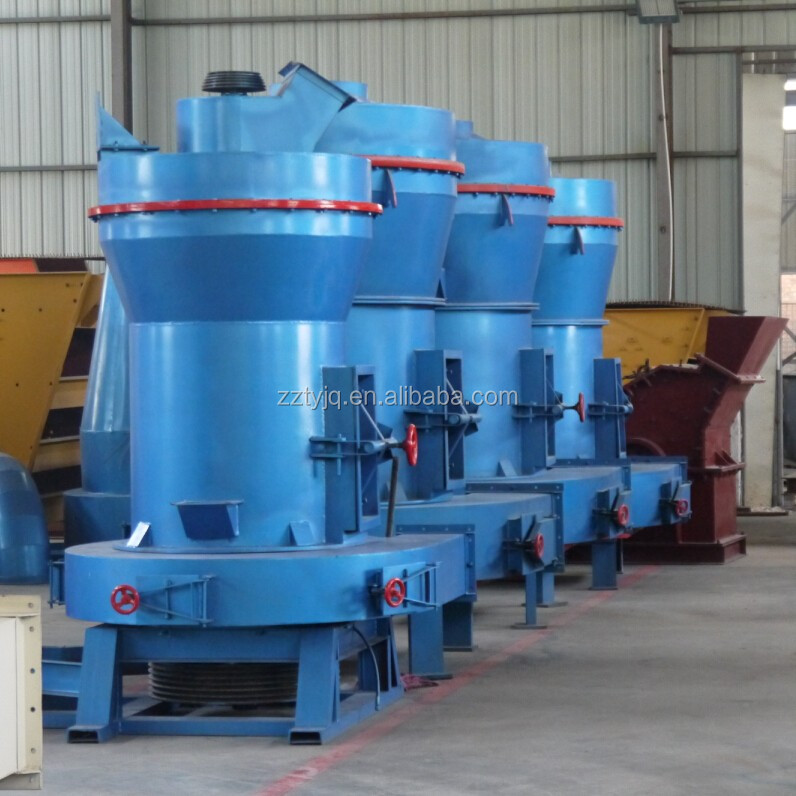 TongYong Machine supply YGM / HGM / MTW hard rock mill for sale