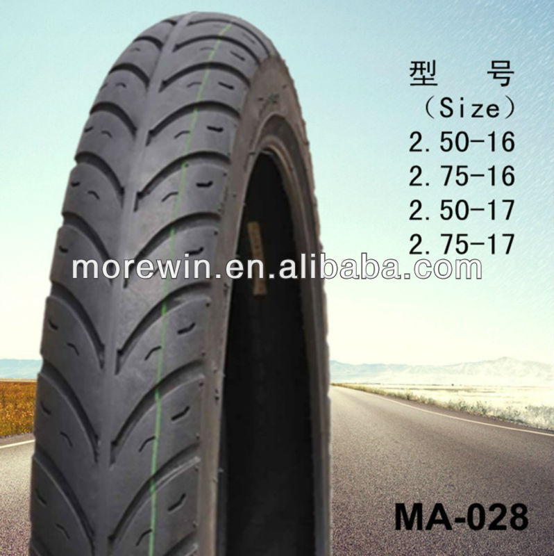 Speed race motorcycle tyre 2.50-16 2.75-16