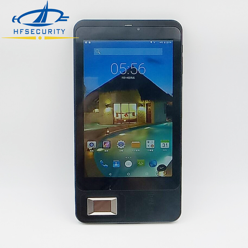 HF FP07 Biometric Barcode NFC Card Terminal PDA Android Fingerprint