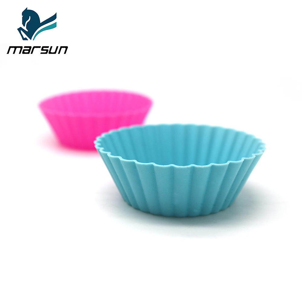 Factory Supplier High-temperature Protect Non-stick Silicone Cake Mold Mould For Muffin Cups Cake Baking