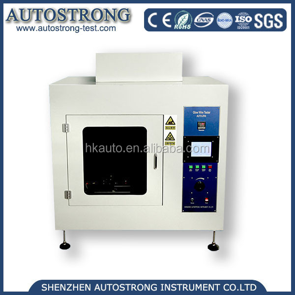 IEC60695-2 UL746A Glow-Wire Testing Machine Autostrong