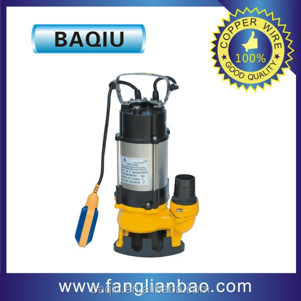 Baqiu Professionl Manufacturer Best Price Stainless Steel Sewage Water Submersible Pumps