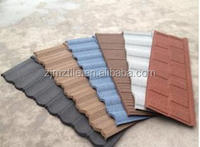 Trade assurance solar roof tiles Stone Coated Metal Roof Tile For House