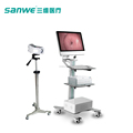 SW3304 Double Screen Camera Digital Colposcope,Sony Camera Colposcope,HD Electronic Colposcope
