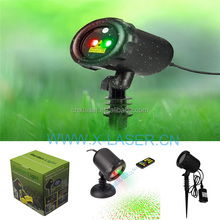 China Star light laser, holiday light show laser projectors, motion laser light for Christmas tree decor