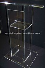 Custom Clear Acrylic Podium