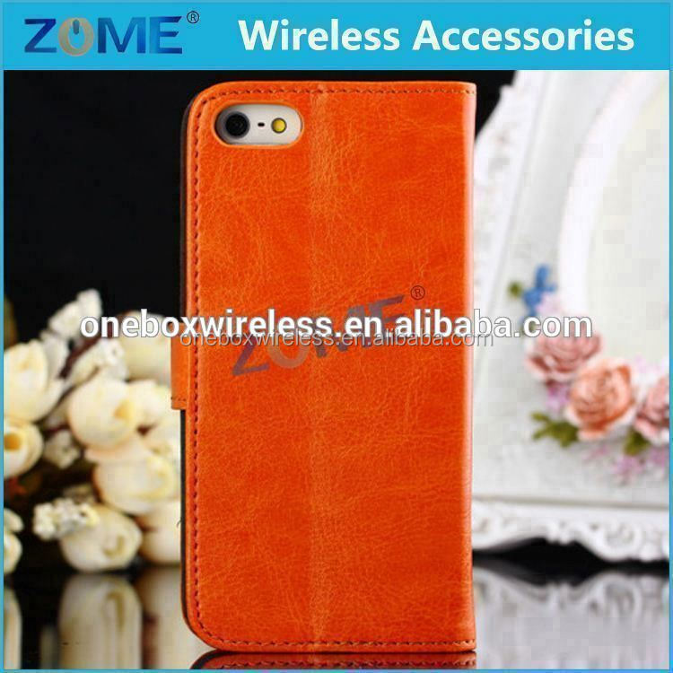 Cover Flip Leather Case For Iphone 5C Cell Phone Case Manufacturer