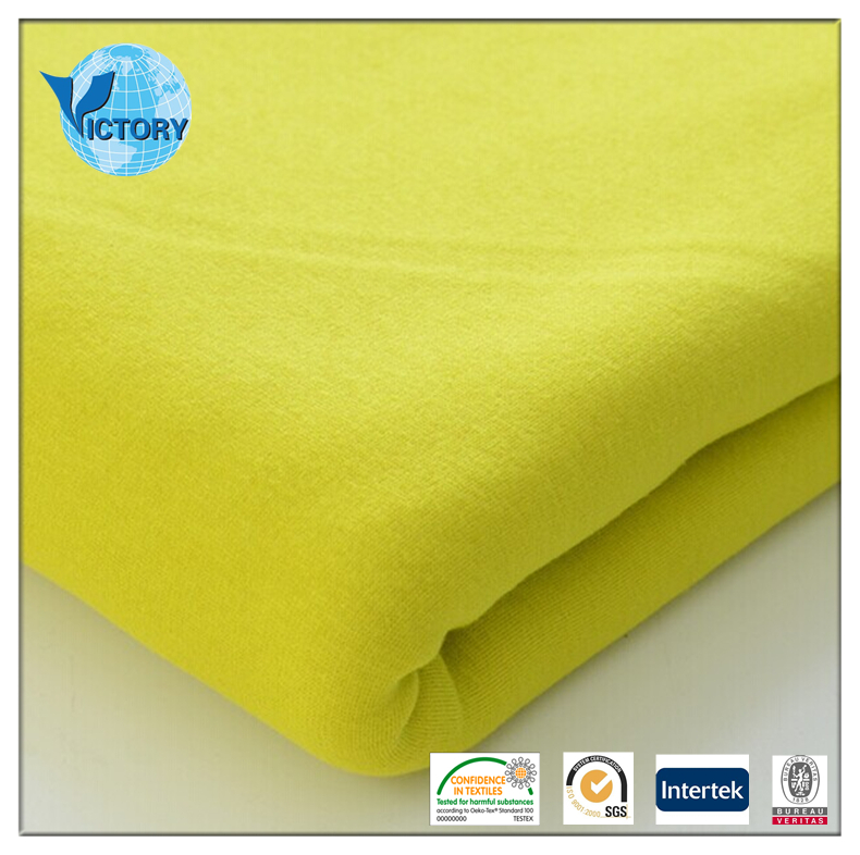 New 95% Polyester 5% Spandex Weft Knitted Fabric Wool Fleece Fabric for Thermal Underwear