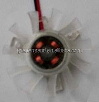small mini micro dc bracket fan (EG4510-39S(B)05H) 5V 12V EVER GRAND card vga cooler cooling