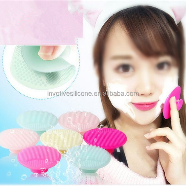 Sedex Audited Factory Custom Silicone Girl Cleaning Face Brush